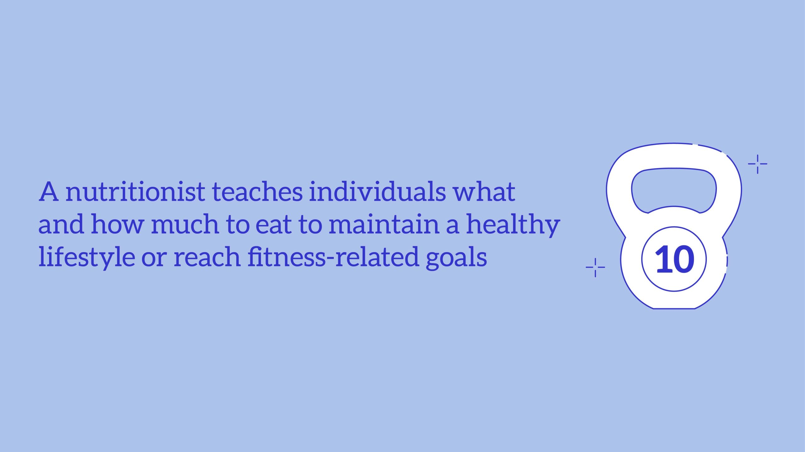 Nutritionist and Dietitian