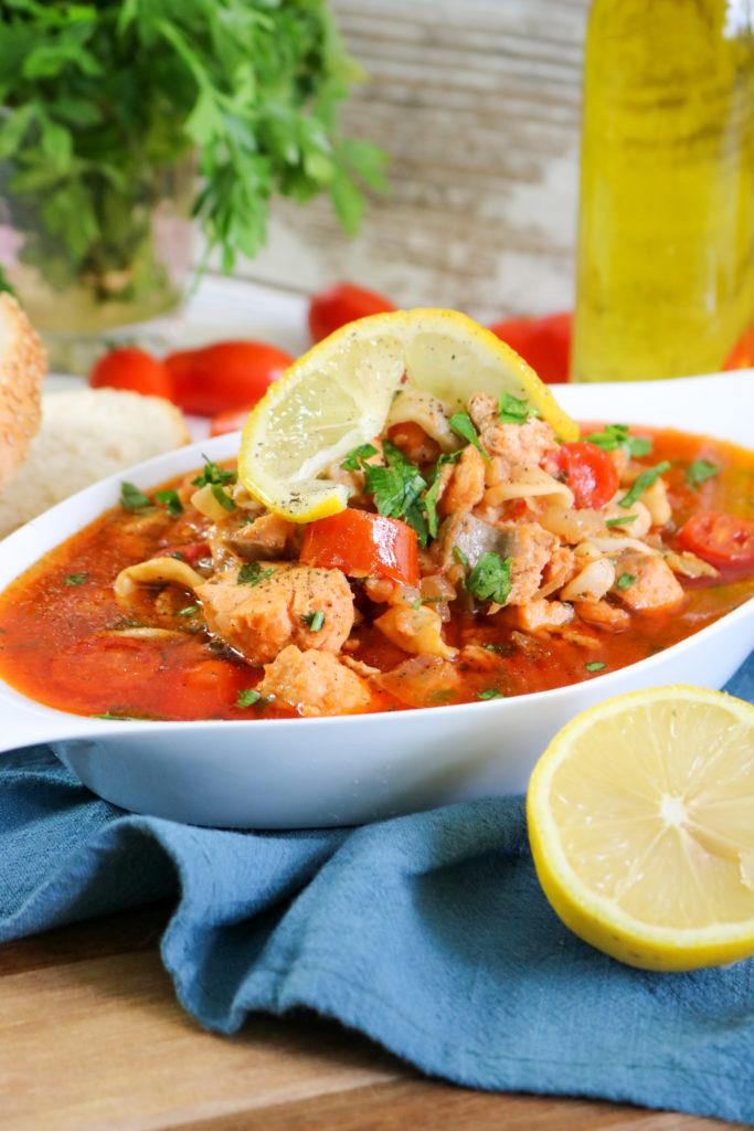 Tuscan Seafood Stew v2