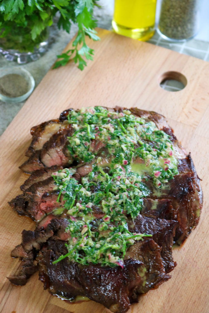Thinly Slice Skirt Steak