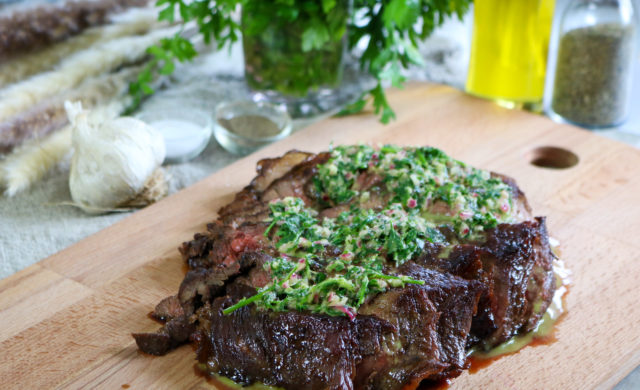 Serve Steak with Sauce