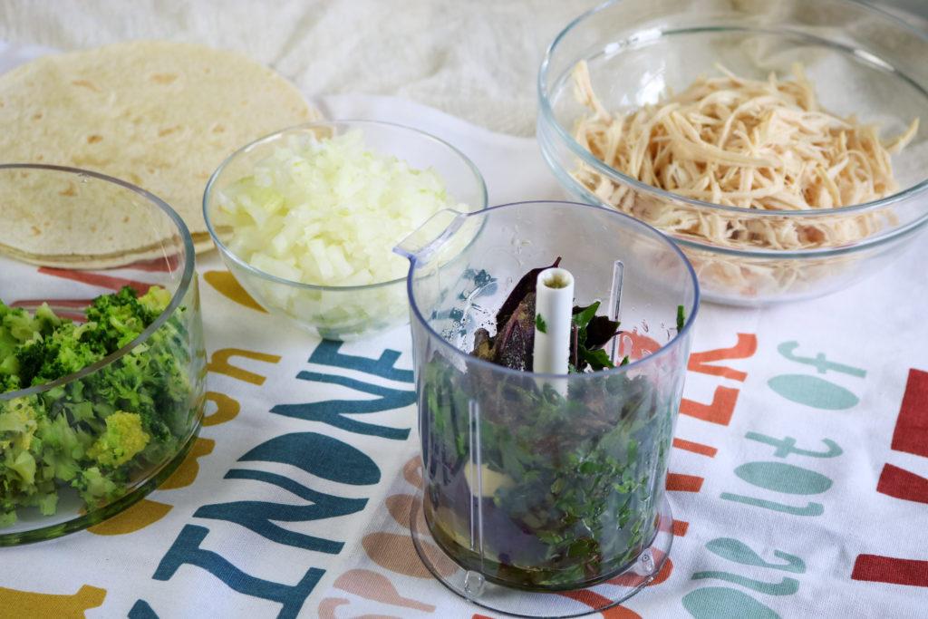 Turkey Enchilada Casserole in Blender