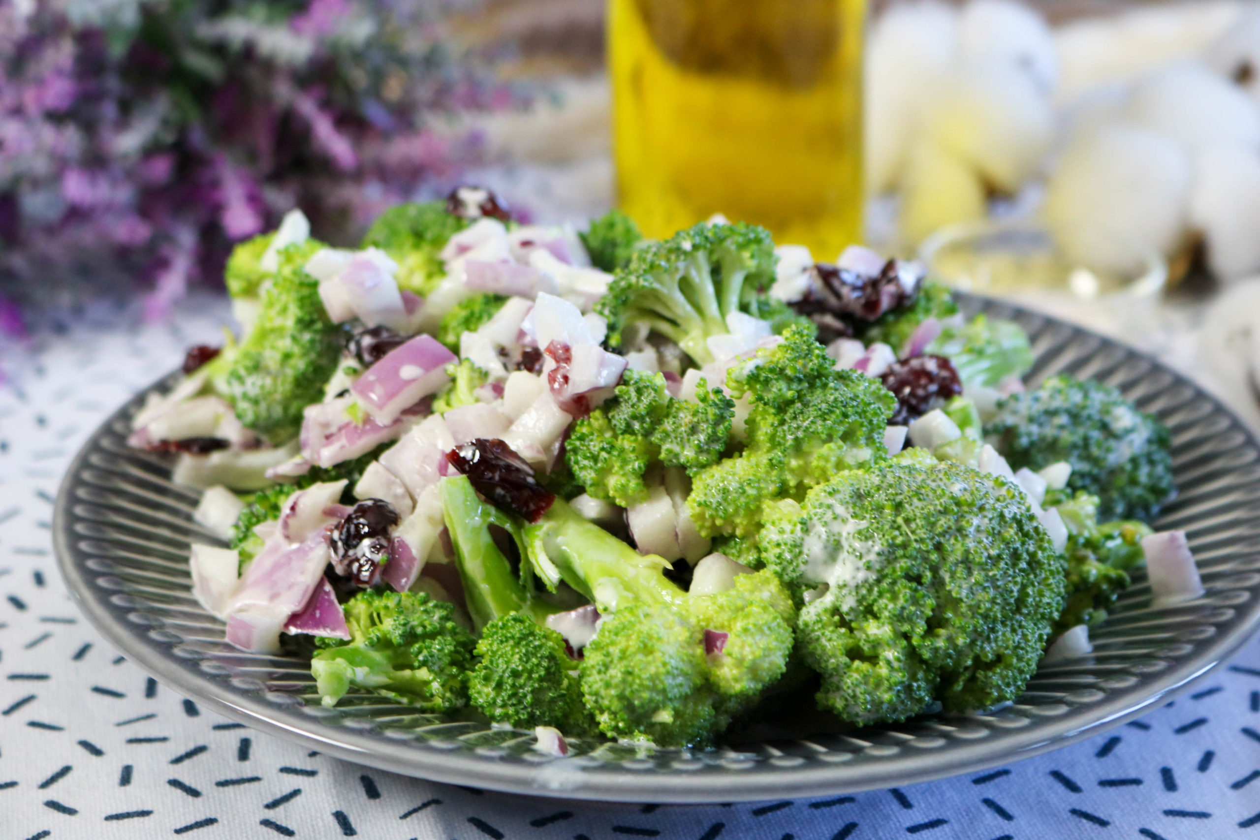 Broccoli Salad With Cranberries