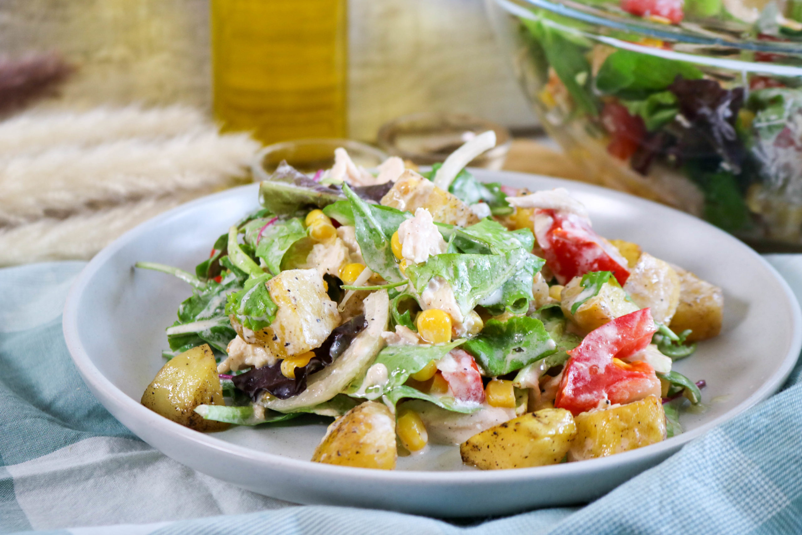 Southwestern BBQ Chicken Salad