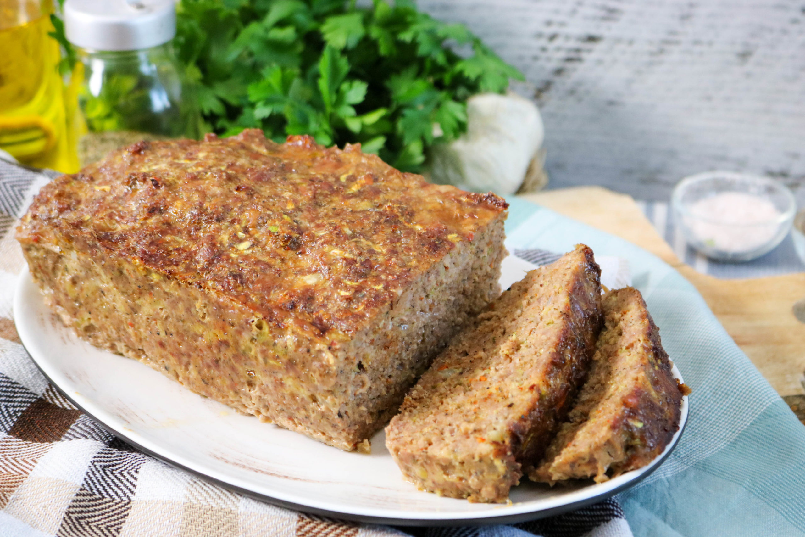Meatloaf With Zucchini