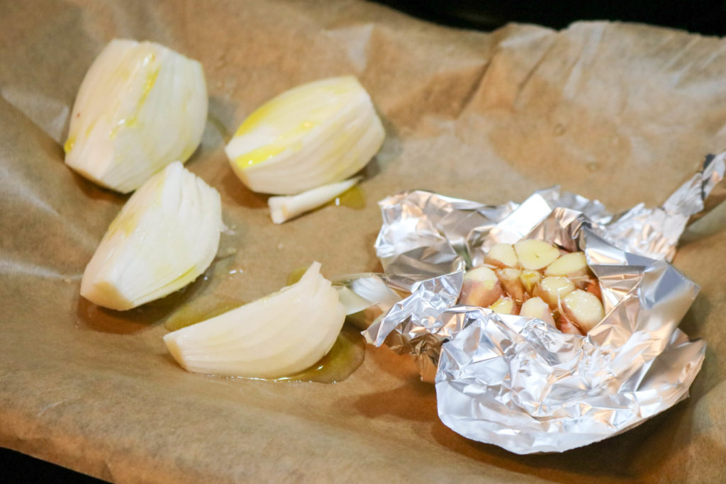Place Garlic in Foil