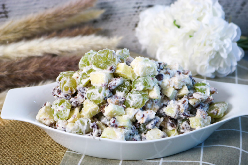 Lightened Cranberry Waldorf Salad