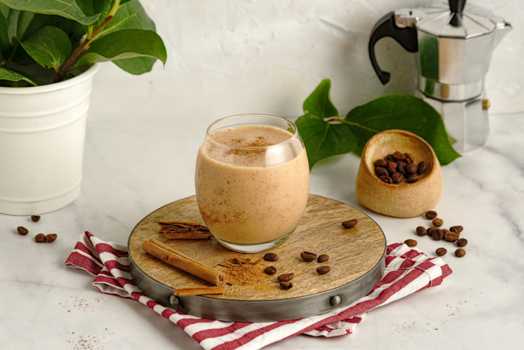 Banana and Figs Coffee Smoothie