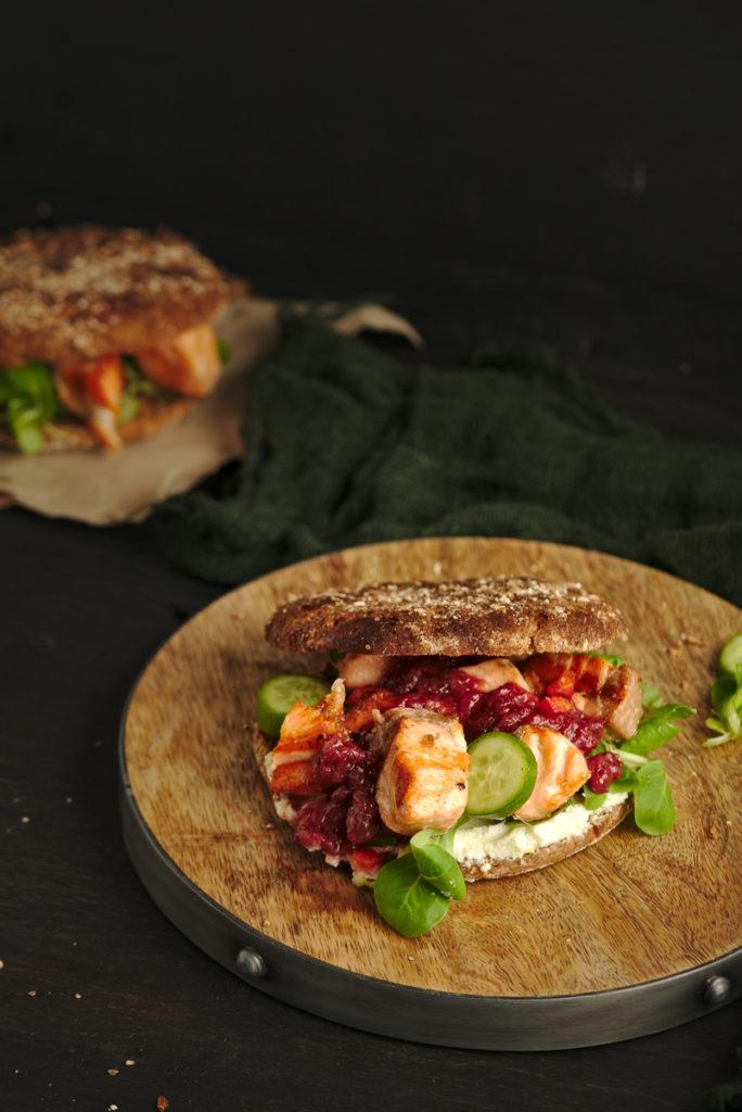 Grilled Salmon Bagels v2