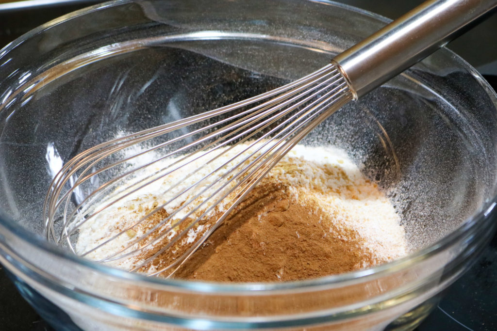 Whisk Together First 8 Ingredients