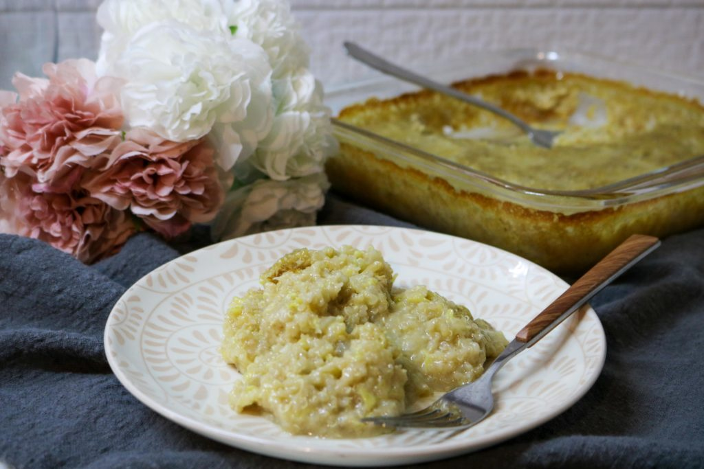Zucchini Casserole with Quinoa 1