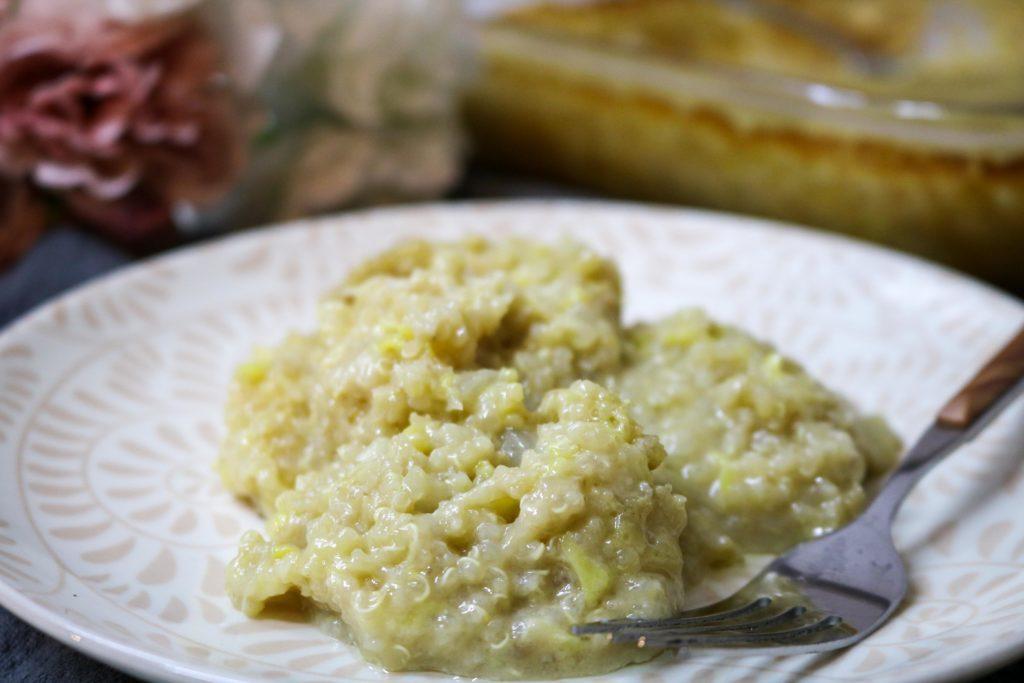 Zucchini Casserole with Quinoa 2
