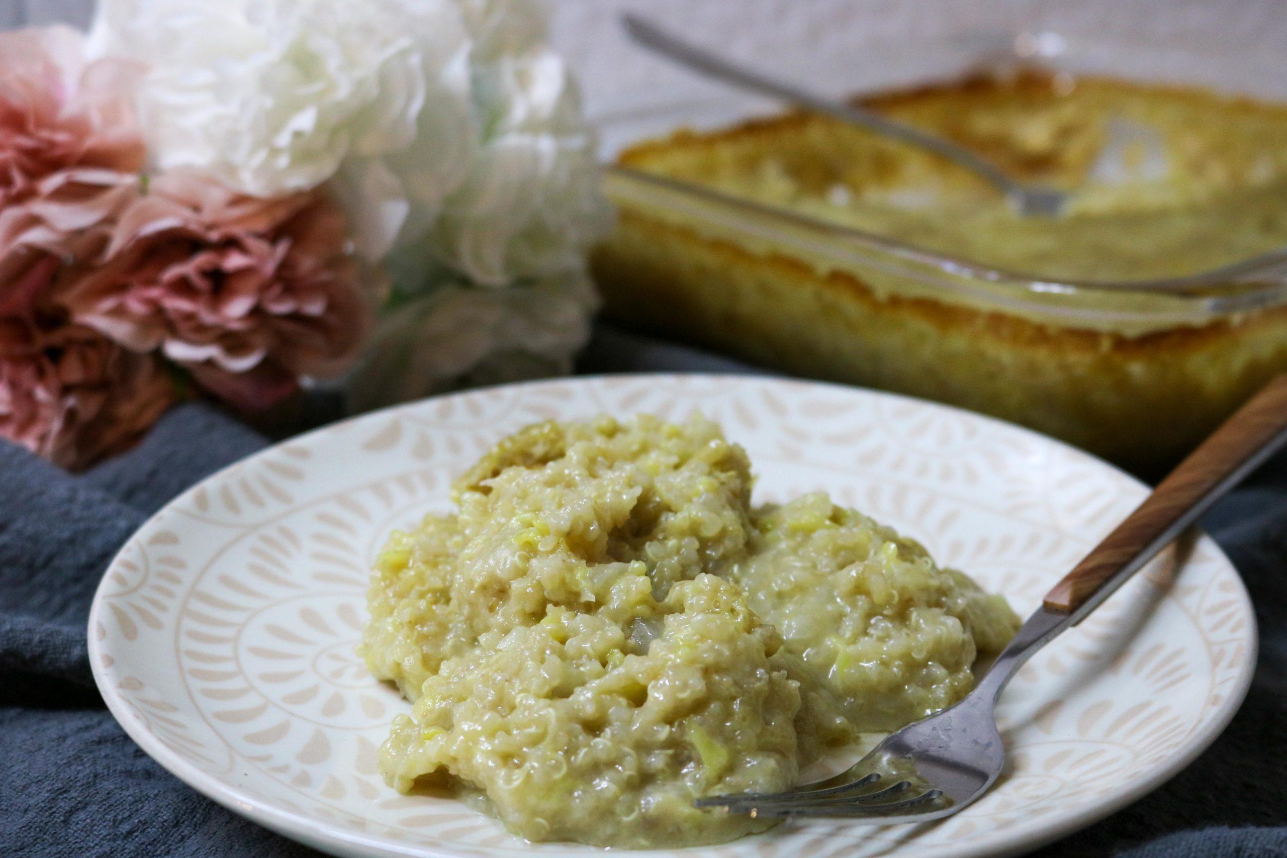 Zucchini Casserole with Quinoa Recipe