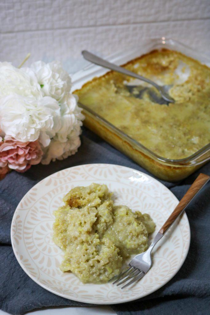 Zucchini Casserole with Quinoa 3