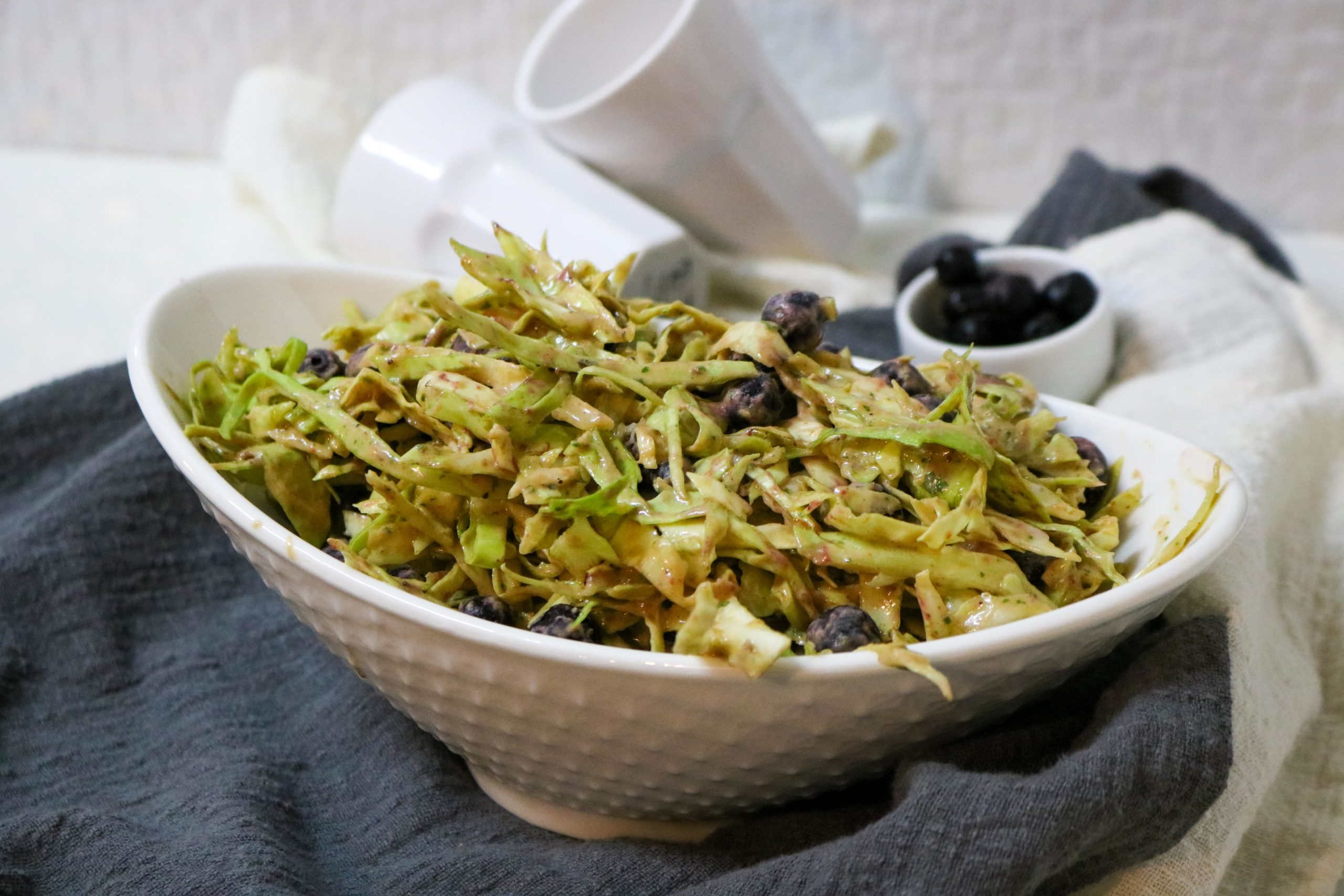 Blueberry Chipotle Coleslaw Recipe