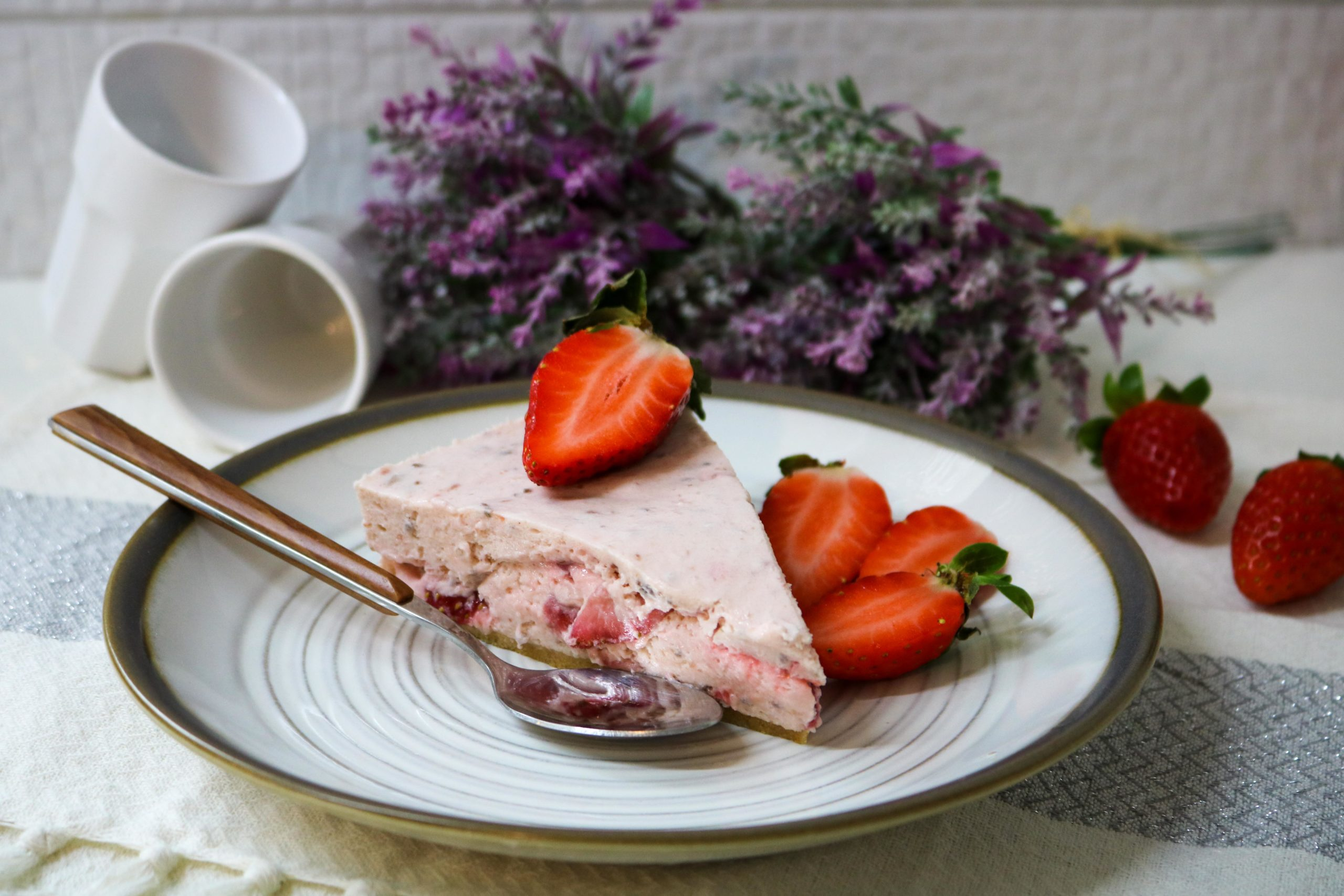 Strawberry Cheesecake Icebox Pie Recipe
