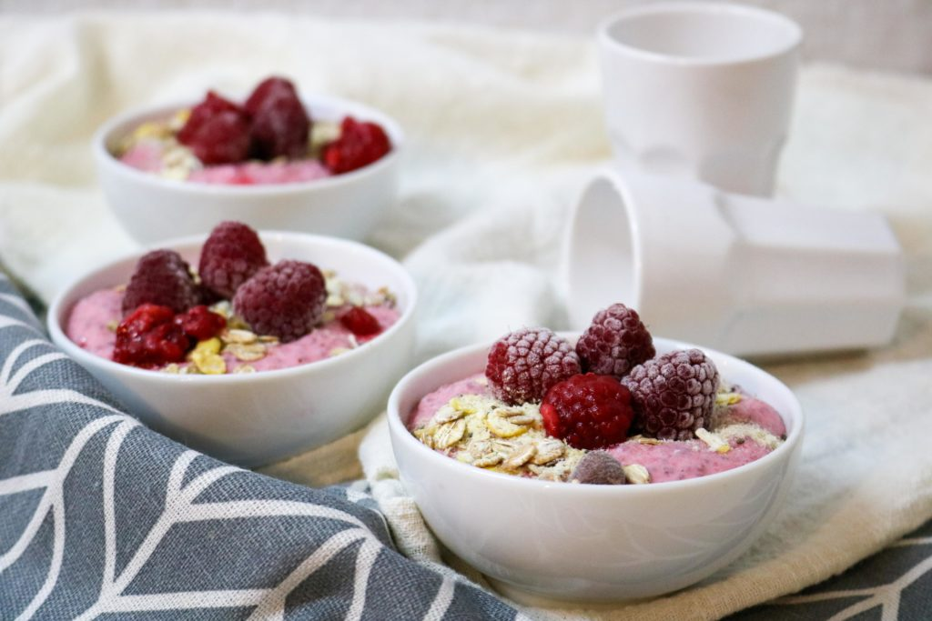 Raspberry Chia Seed Yogurt Parfait 1