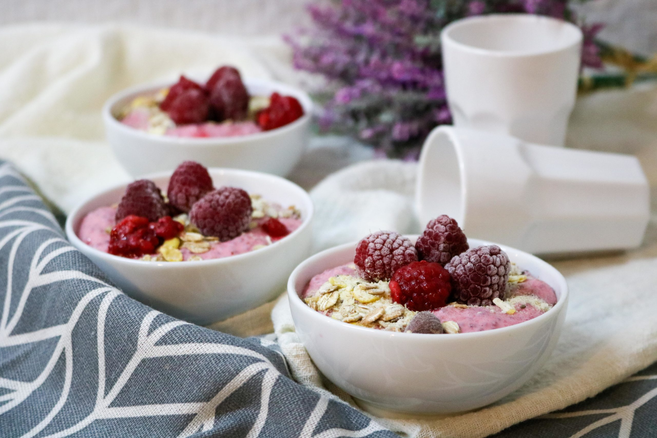 Raspberry Chia Seed Yogurt Parfait Recipe