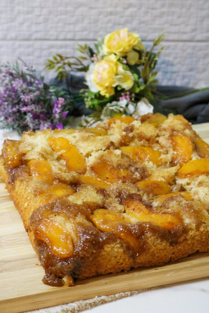 Peach Upside Down Cake 1