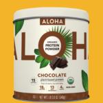 ALOHA Chocolate Protein Powder