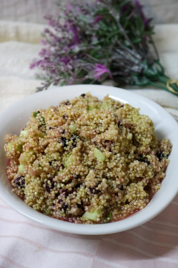 Quinoa Salad with Blackberries and Lemon Vinaigrette 2
