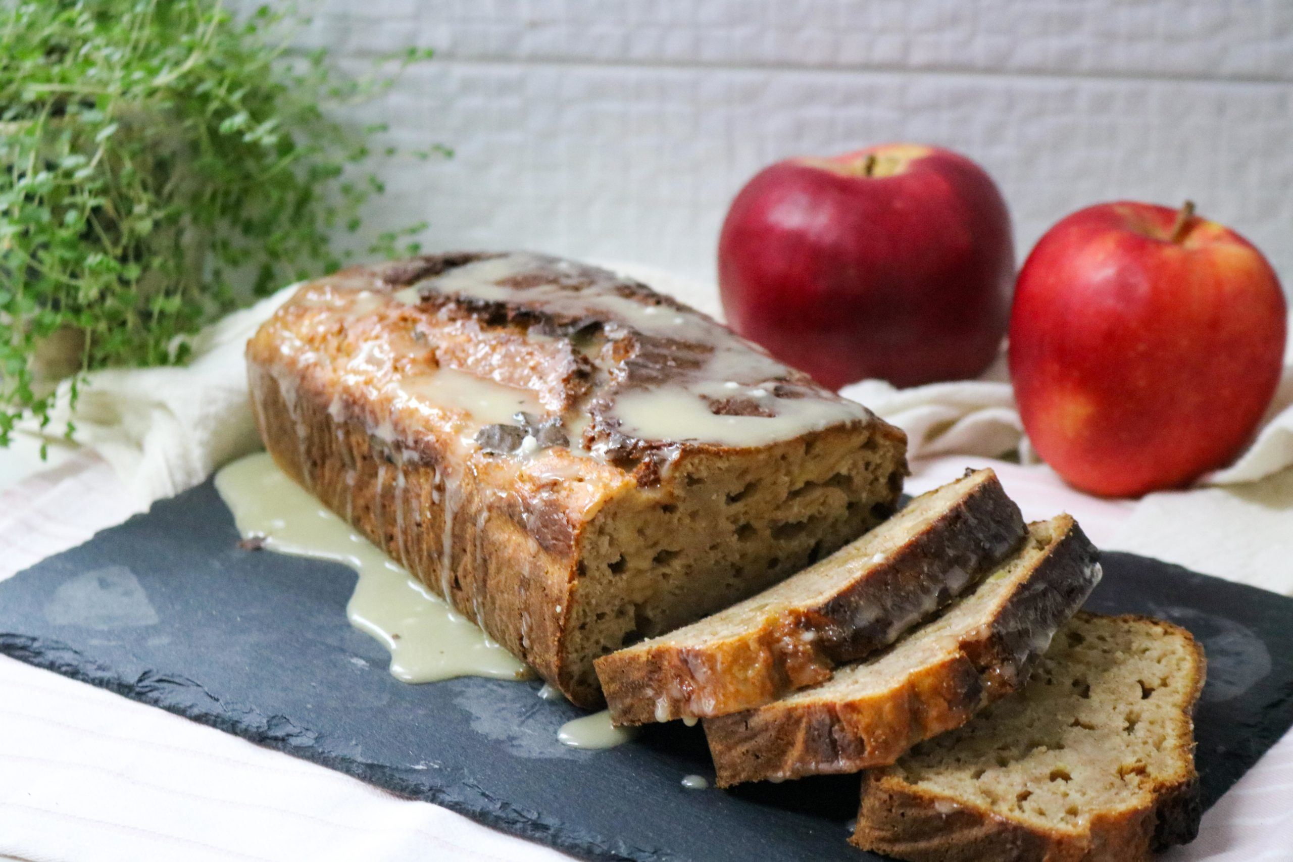Spiked Apple Bread with Walnuts Recipe