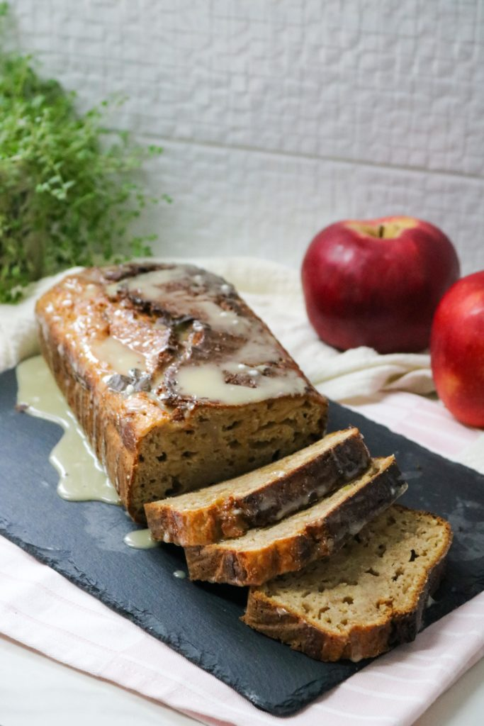 Spiked Apple Bread with Walnuts 2