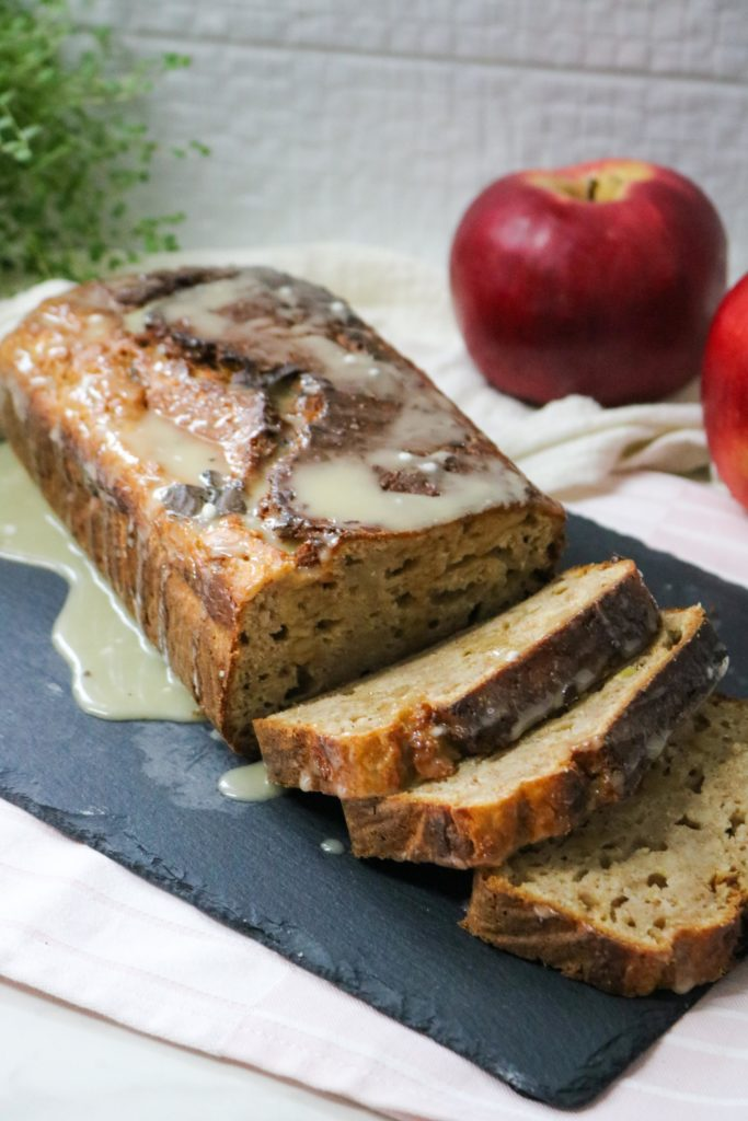Spiked Apple Bread with Walnuts 1