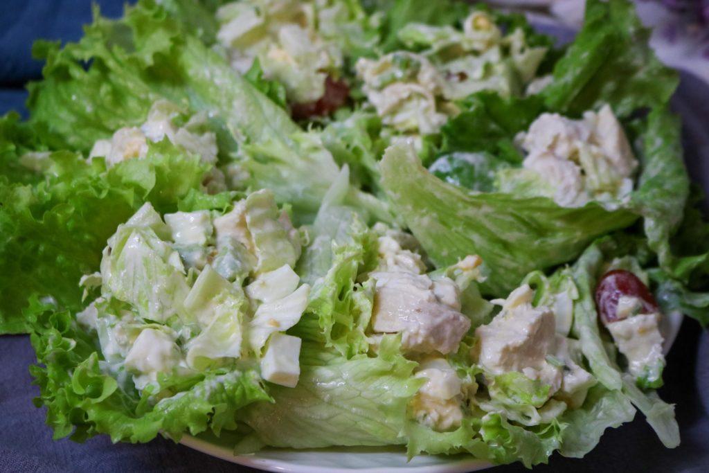 Turkey Cobb Salad Lettuce Wraps 2