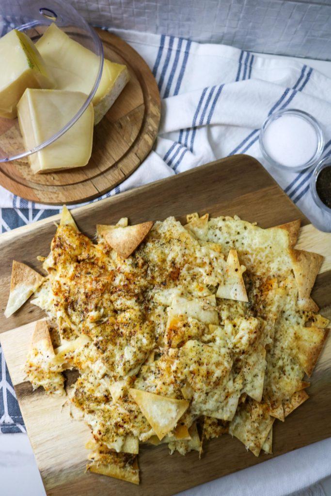 Nacho Cheese Baked Tortilla Chips 1