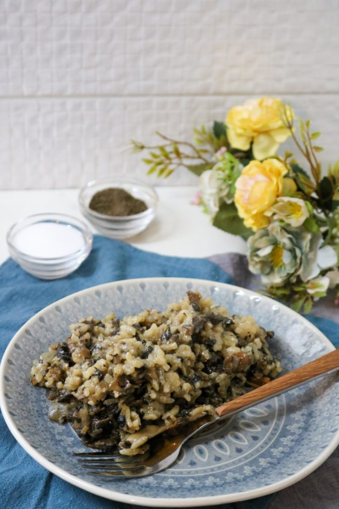 Oven Baked Mushroom Risotto 1