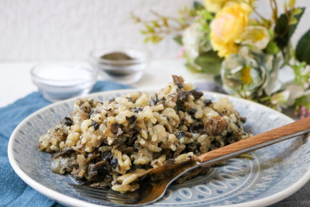 Oven Baked Mushroom Risotto Recipe