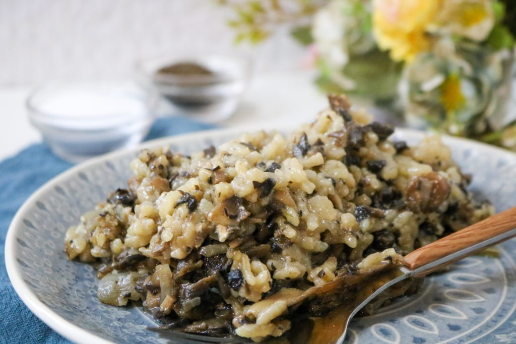 Oven Baked Mushroom Risotto 2