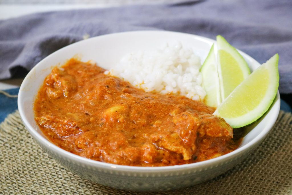 Indian Butter Chicken with Olive Oil Recipe