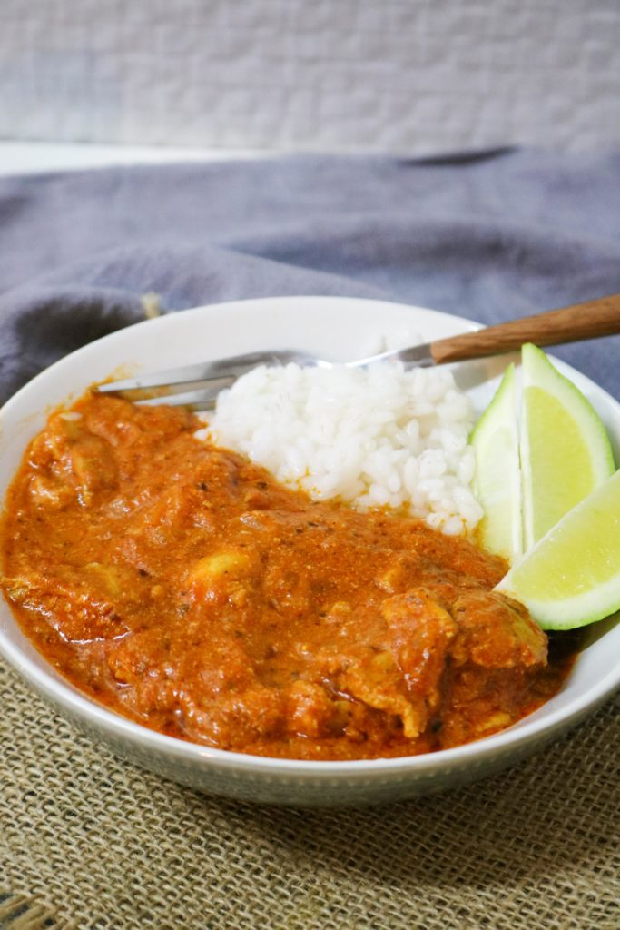 Indian Butter Chicken with Olive Oil 1