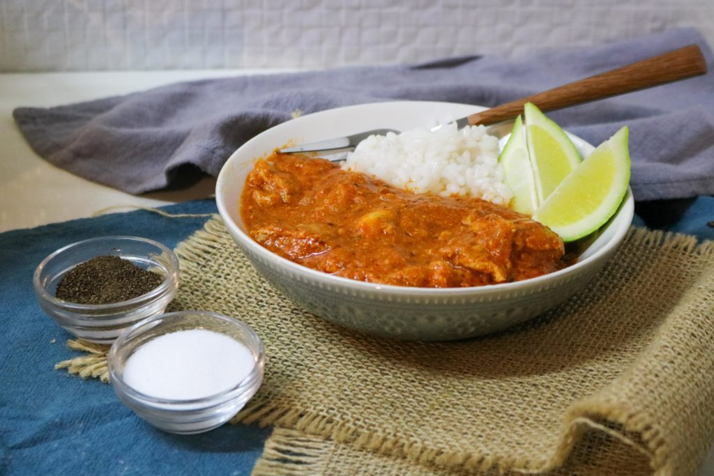 Indian Butter Chicken with Olive Oil 2