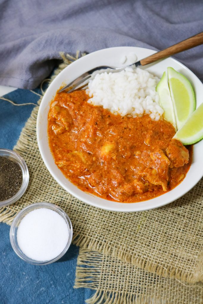 Indian Butter Chicken with Olive Oil 3
