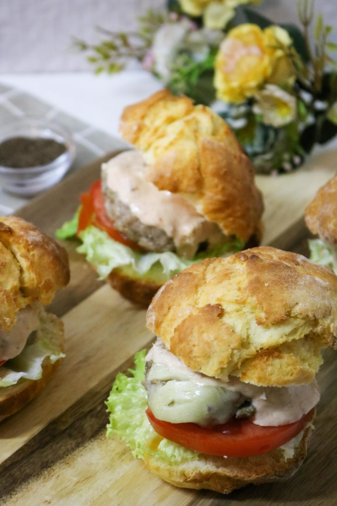Grilled Turkey Burgers with Avocado 1