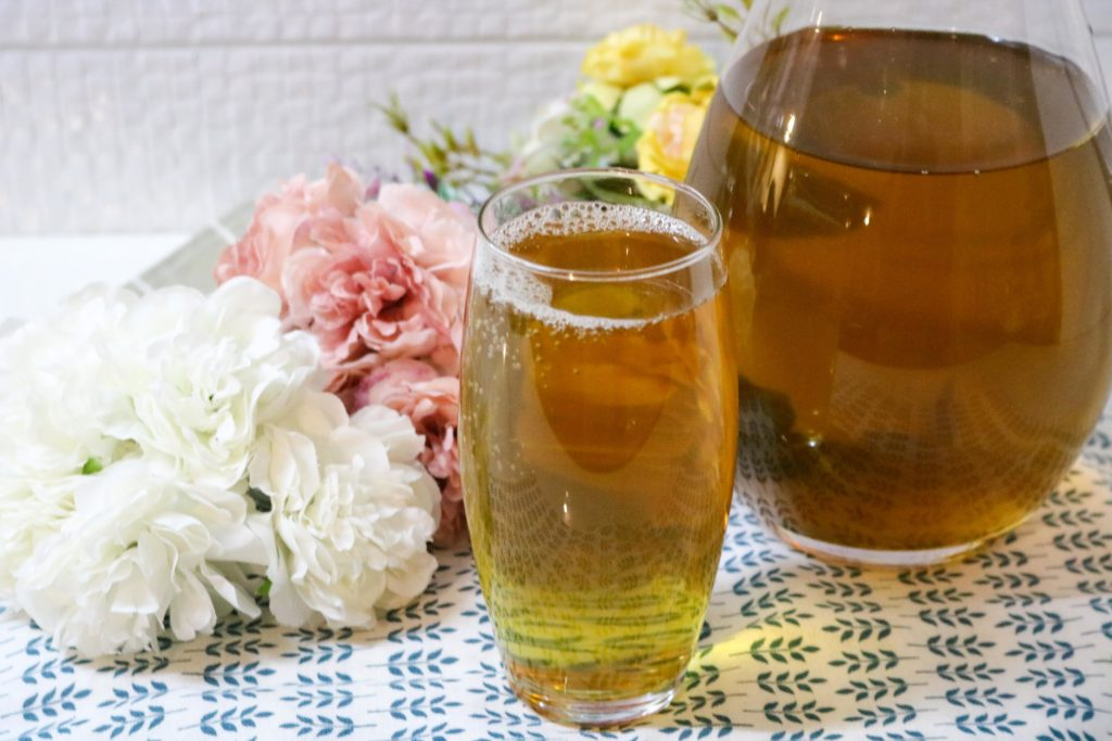 Lemongrass Mint Iced Tea Recipe