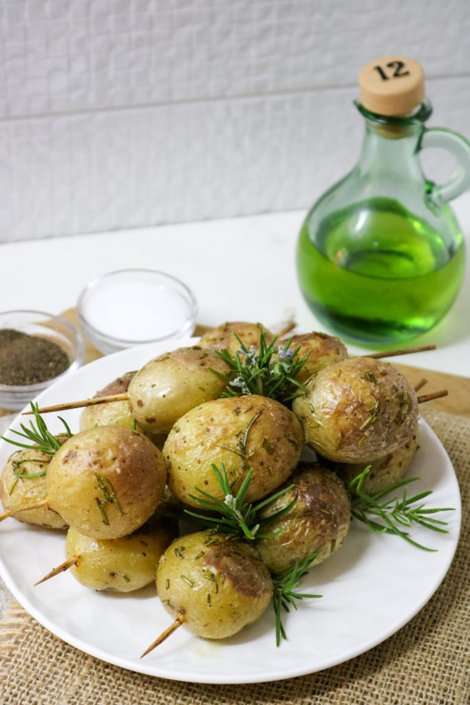 Grilled Potato Rosemary Kebabs 1