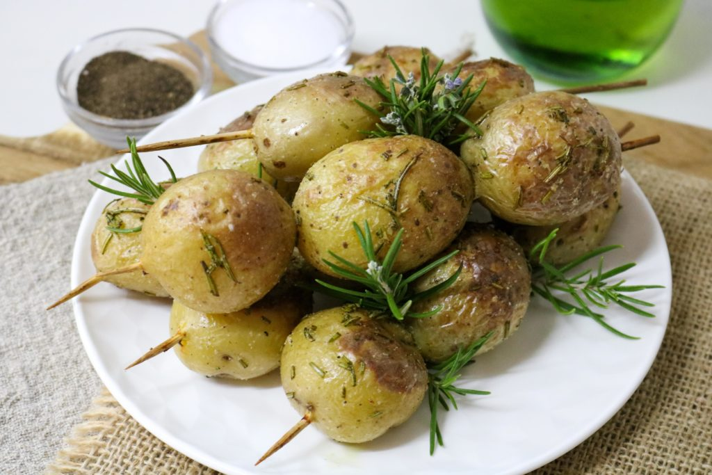 Grilled Potato Rosemary Kebabs 2