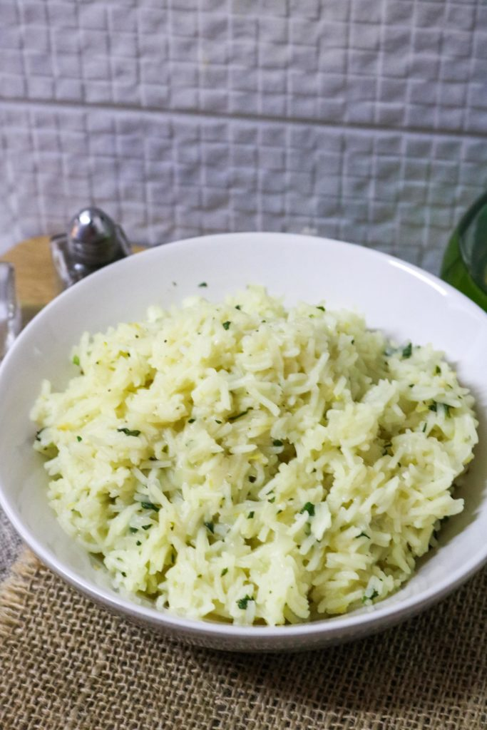 Lemon Rice Pilaf and Fresh Mint 1