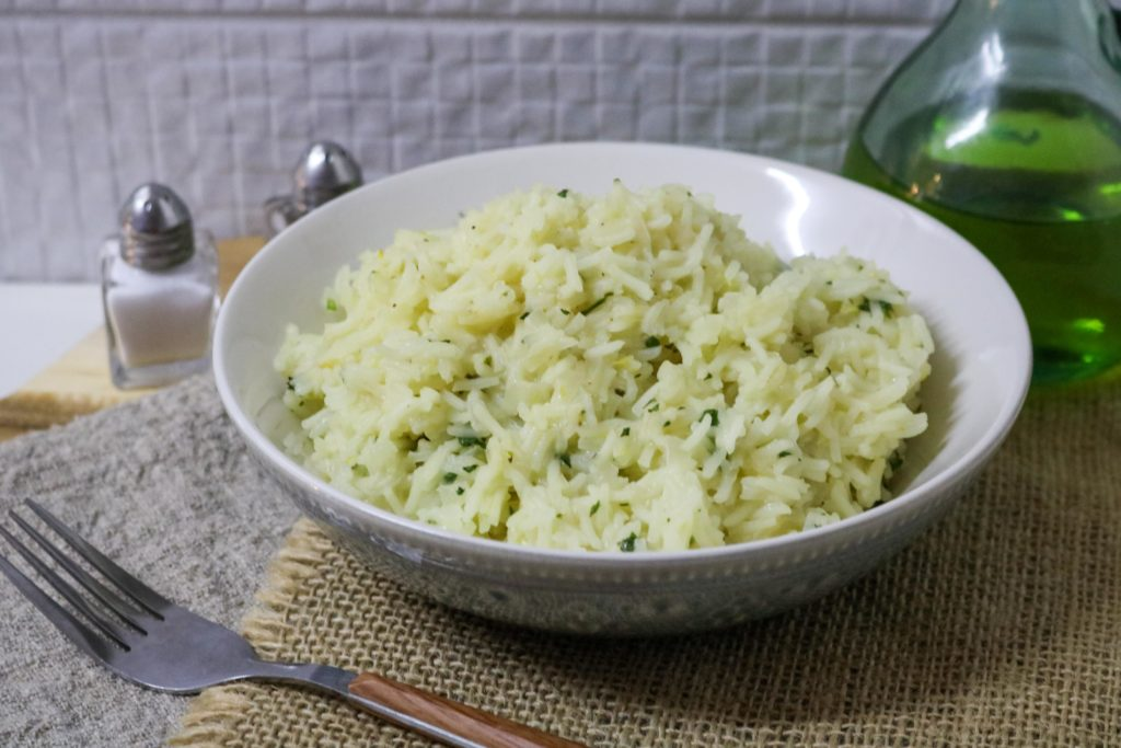 Lemon Rice Pilaf and Fresh Mint 2