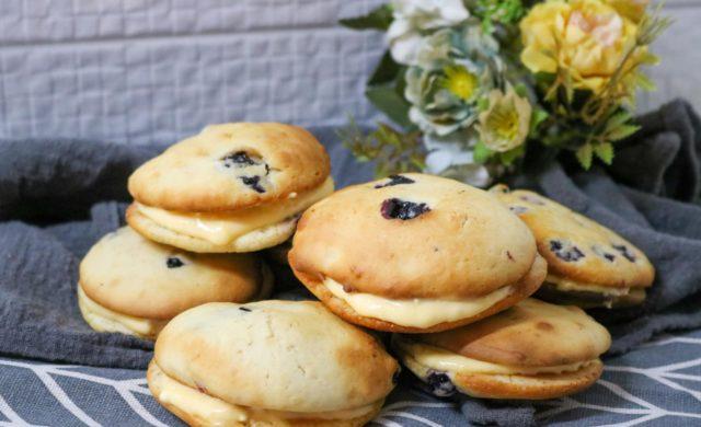 Lemon Blueberry Whoopie Pie Recipe