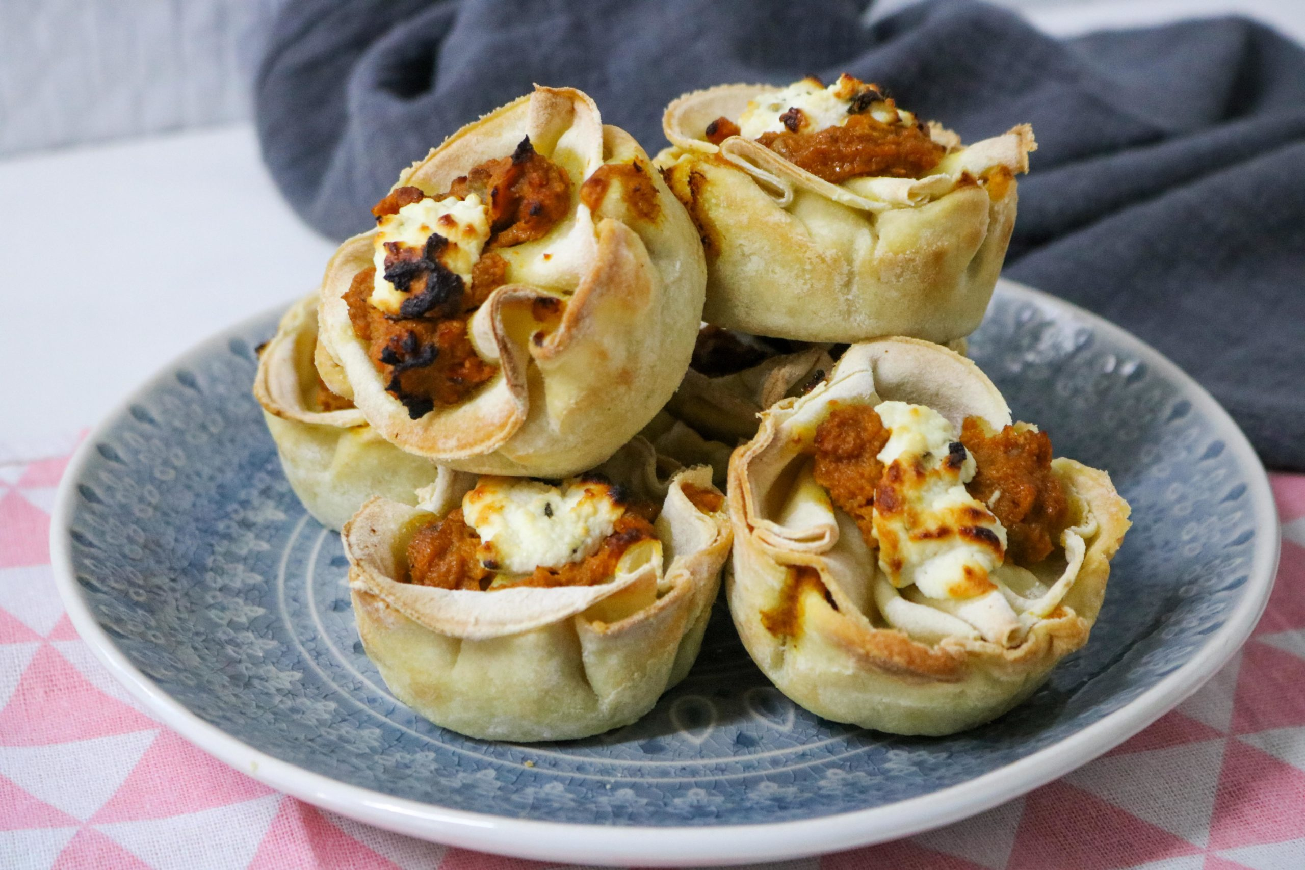 Pumpkin Sage Lasagna Cups Recipe